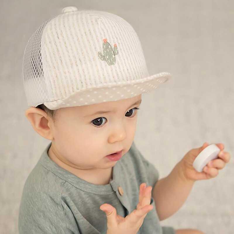 ebe2c0852ae Liva Girl New Baby Baseball Caps Summer Autumn Baby Hats Children Infant  Head Breathable Cotton Bebe s