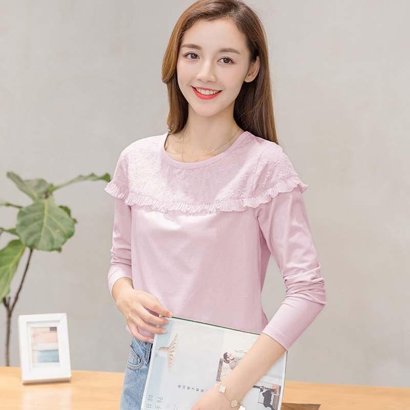 Camisas Femininas Manga Longa 2017 Korean Fashion Embroidery Floral Women Blouse Shirt Long Sleeve Blouses Ladies