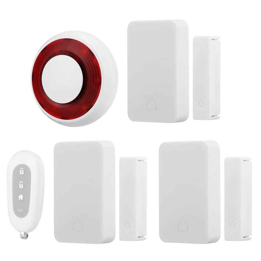 Sirene do Sistema de alarme Para Casa sistema de Alarme Sistema de Alarme Residencial Apartamento Ímã Da Porta Sensor de Movimento Remoto De Segurança Sem Fio Em Casa