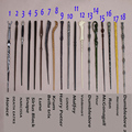 18pcs/set Package with original box Quality 2017 New Harry Potter Cosplay Hogwarts Dumbledore Mediumistic Magical Wand Magic