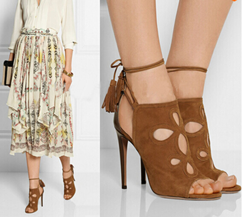 celebrity stiletto heel open toe cut-outs high heel sandals woman summer high heel lace up gladiator sandals fashion cut outs gladiator high heels women sandals stiletto heel sandal open toe lace up pumps shoes woman