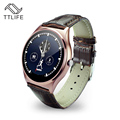 Original ttlife marca marcación bluetooth heart rate monitor podómetro smartwatch smart watch pista reloj para android ios
