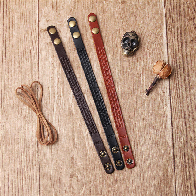 Janeyacy 2018 новый модный кожаный браслет мужской pulsera винтажный