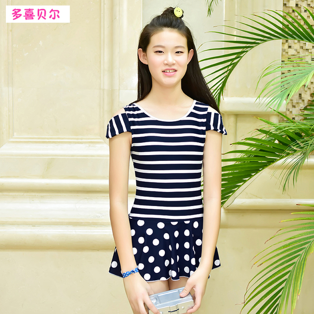 66703921502 New girls swimsuit latest comfortable one piece swimsuit beach suits sports  outdoor swimwear for school girl