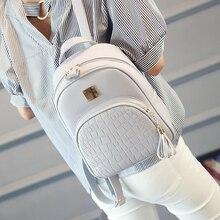 EnoPella женщины рюкзак кожа школьные сумки для девочек-подростков камень блестками женский элегантное стиль небольшой рюкзак