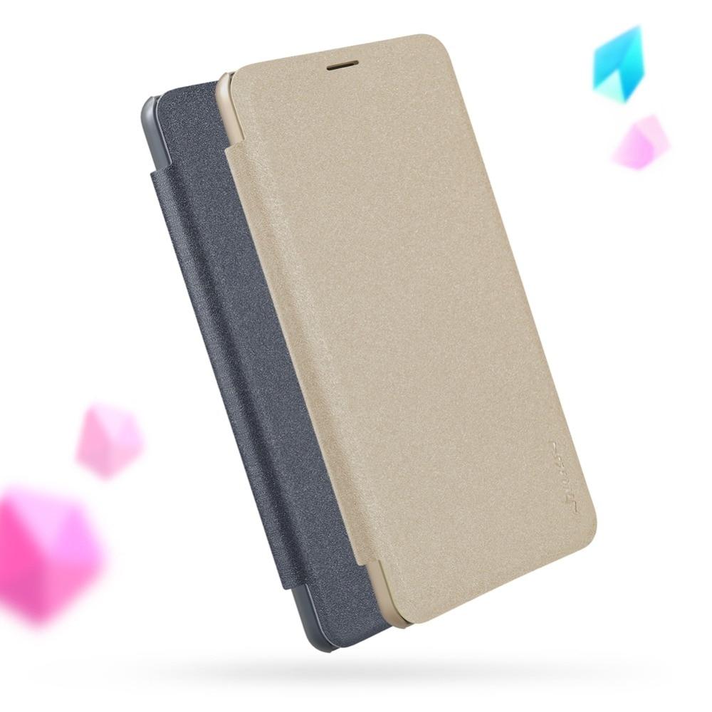 Hot Sale Nillkin Case For Xiaomi Mi Max 3 Cover 69 Sparkle Pu Leather Flip Smart Wake Up Max3