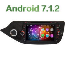 8″ Quad-Core Android 7.1.2 2GB RAM 3G 4G WIFI DAB+ SWC RDS Car DVD Multimedia Player Radio Stereo For Kia CEED 2013 2014 2015