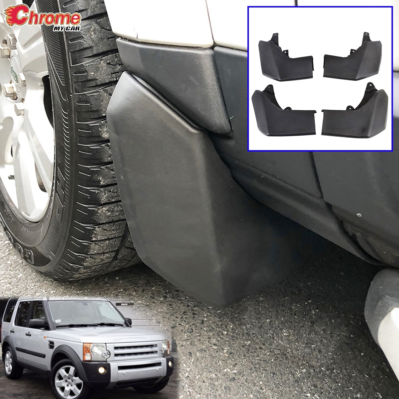 MUDFLAPS MUD FLAP Accessories FOR LAND ROVER DISCOVERY 3 2004 2005 2006 2007 2008 LR3 SPLASH GUARD MUDGUARDS FENDER