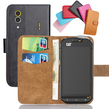 Hot!! In Stock For Caterpillar CAT S60 Case 6 Colors Ultra-thin Leather Exclusive Phone Cover+Tracking