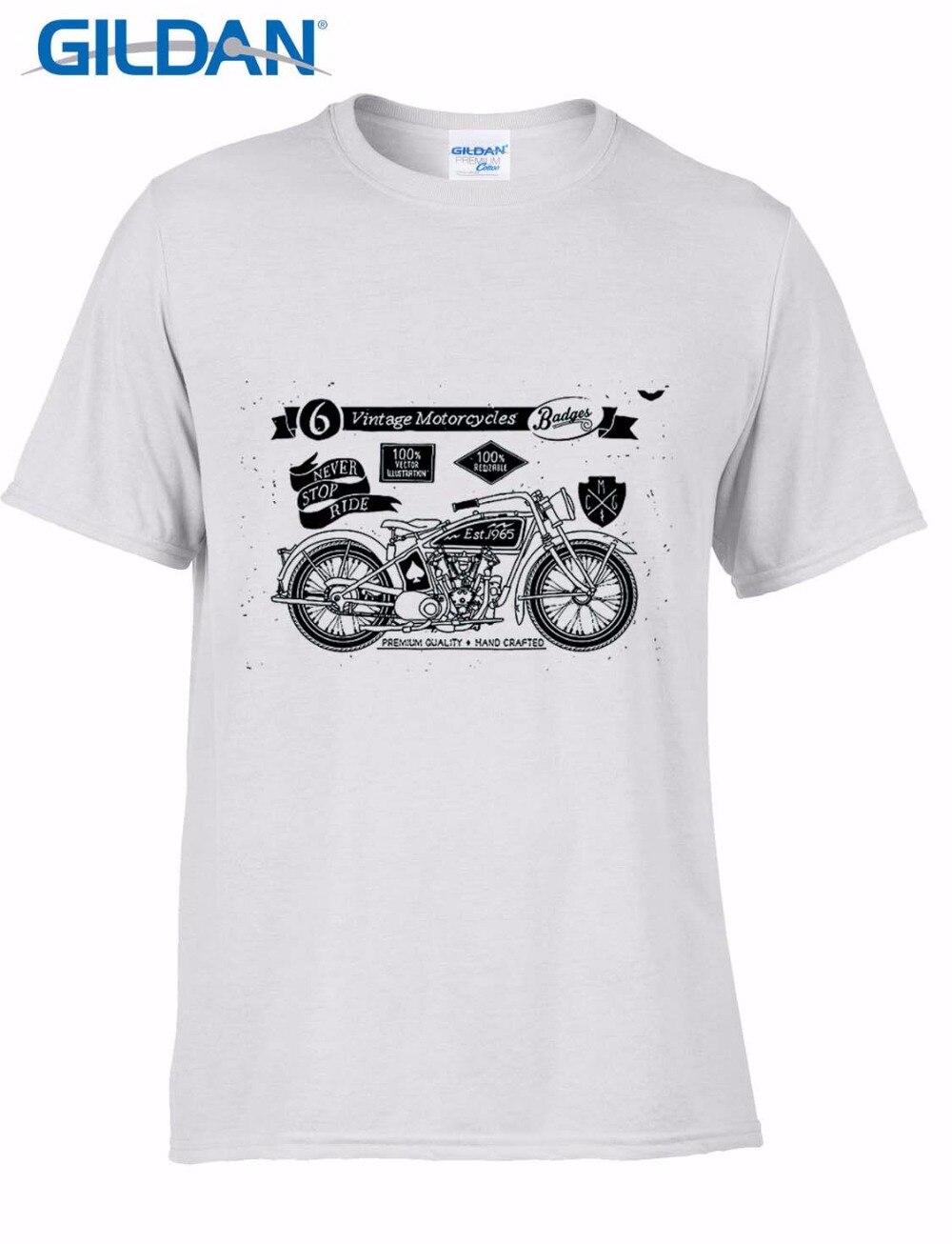 100% Cotton T-Shirt Men 2017 Summer Cheap Sale Pre-Cotton T Shirts For MenS Vintage Motorcycles Fans Hot Sale Tee Shirt