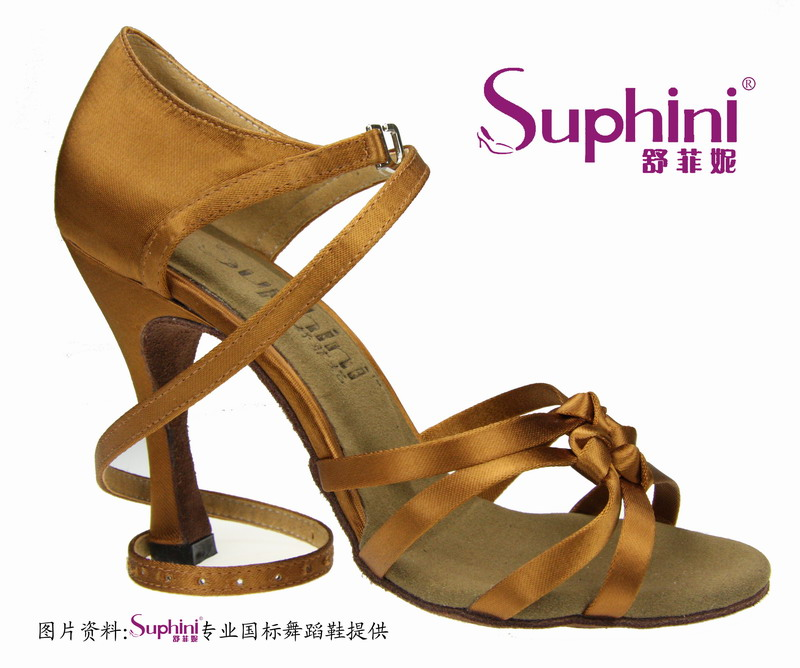 цена на Express Free Fast Shipping Suphini Woman Latin Salsa Dance Shoes Knot Latin Dance Shoes