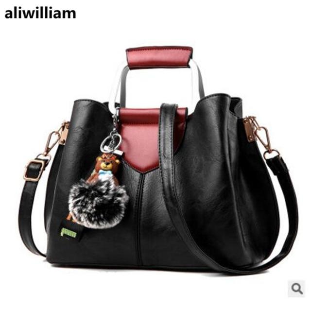 ee3ed001ddb8 Bag Female 2018 New Fashion Shoulder Bag Korean Simple Wild Messenger Bag  Large Capacity Shoulder Bag