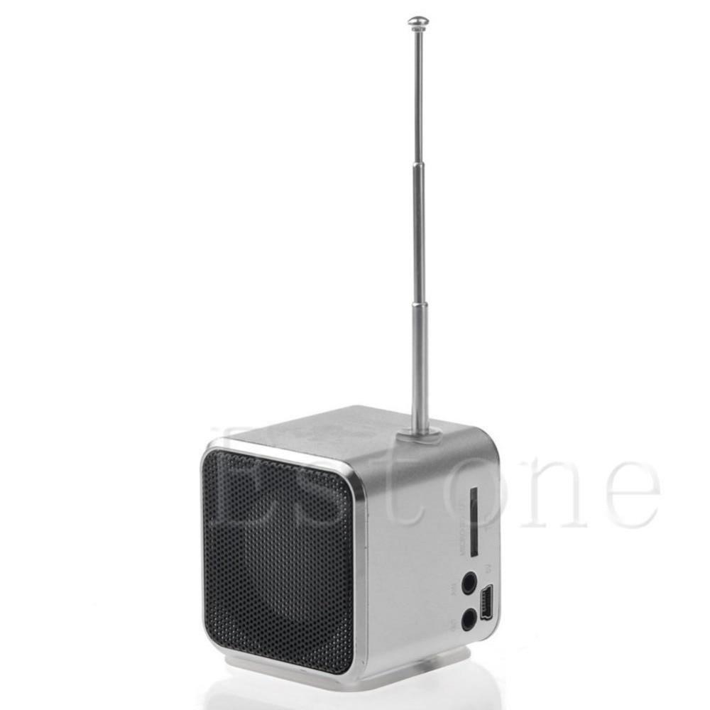 Mini 1PC Micro SD TF USB Speaker Music Player Portable FM Radio Stereo PC MP3