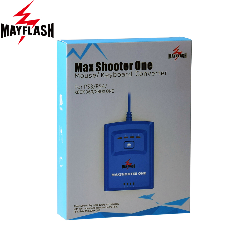 MayFlash Max Shooter ONE Mouse Keyboard Converter for PS3 for PS4 PS4 PRO PS4 SLIM for