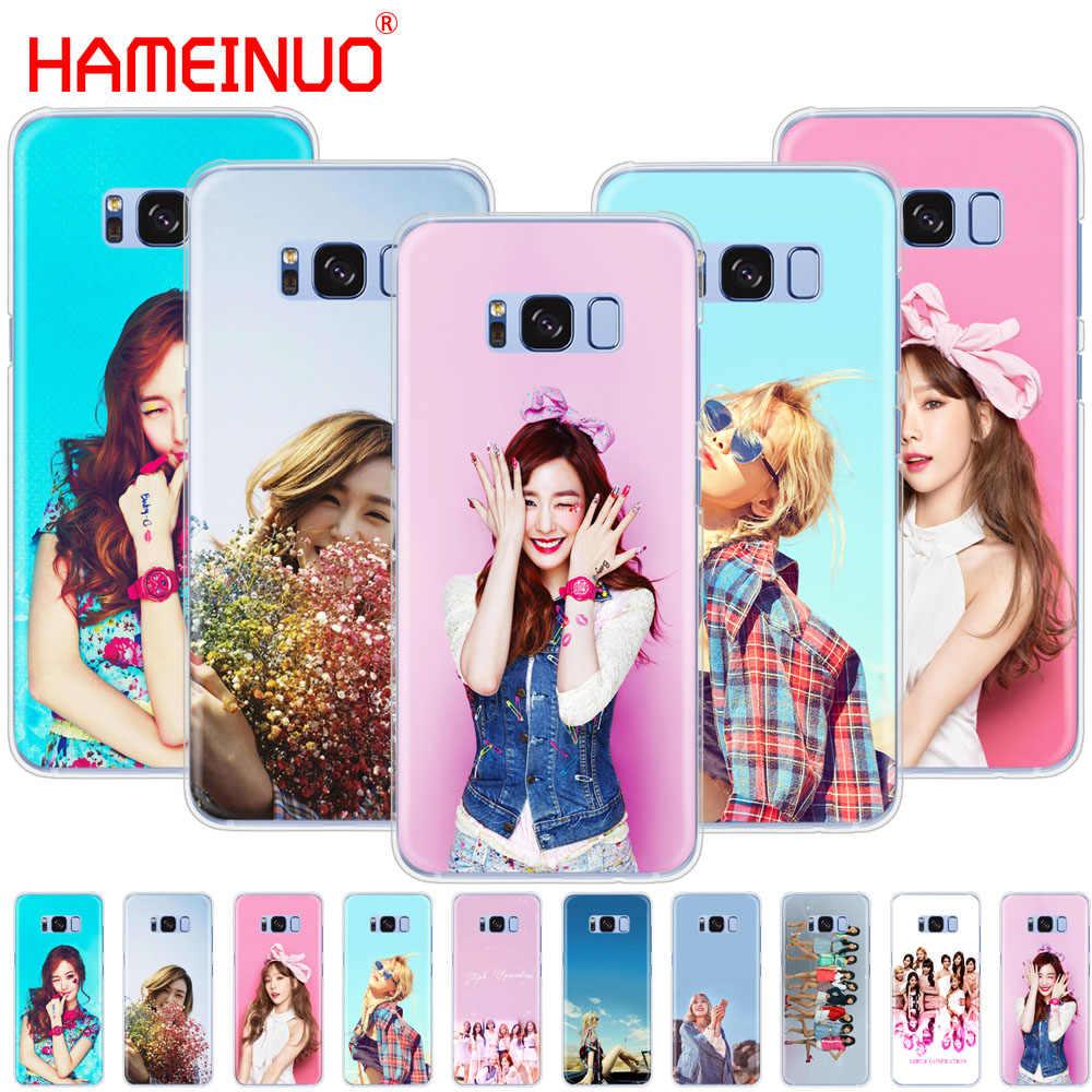 Hameinuo Gadis Generasi Ponsel Case PENUTUP UNTUK Samsung Galaxy S9 S7 Edge Plus S8 S6 S5 S4 S3 Mini