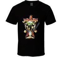 Gildan The Village T Shirt Shop Jumanji Robin Williams Retro Adventure Movie T Shirt
