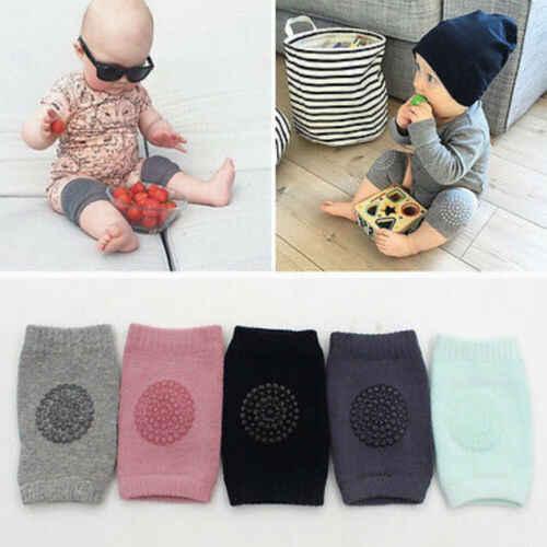 1 paar Weiche Baby Kleinkinder Sicherheit Anti-slip Ellenbogen Krabbeln Kissen Knie Atmungs Wärmer Protector Kleinkind Kinder