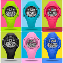 LED Digital Kids Sport Wrist Watch Electronic
