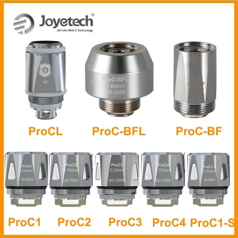 5PCS Original Joyetech ProC Series Heads ProCL/ProC-BF/ProC-BFL/ProC1-S/ProC1/ProC2/ProC3/ProC4 Coil For ProCore Aries E-Cig