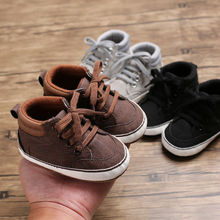 Newborn Cute Baby Kid Boys Girl Toddler Infant Shoes Soft Sole Cotton Crib Shoes Sport Casual Warm Sneaker 0-18 Months стоимость