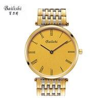 BAILISHIทองผู้หญิงดูสบายๆกีฬาwatchsควอตซ์ยอดนาฬิกาแบรนด์หรูสแตน