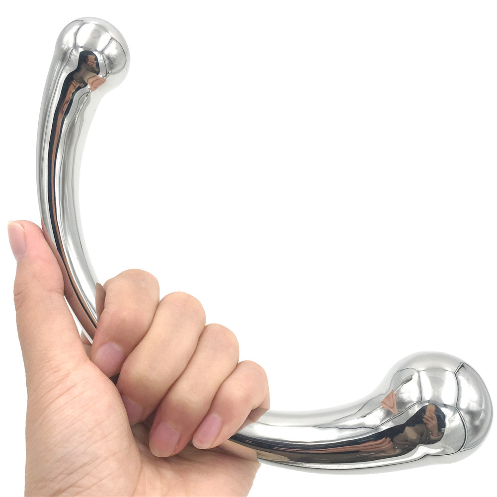 Anal Sex Toys 316l Stainless Steel Anal Beads Butt Plugs G-spot Prostata Massager Erotic Anal Dildos Adult Sex Toys For Woman Men Gay Products Good Companions For Children As Well As Adults