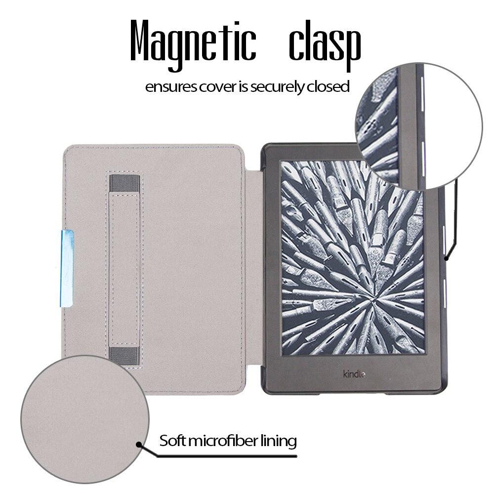Funda elegante con cubierta de imán de cuero de la PU Magnet Folio - Accesorios para tablets - foto 3