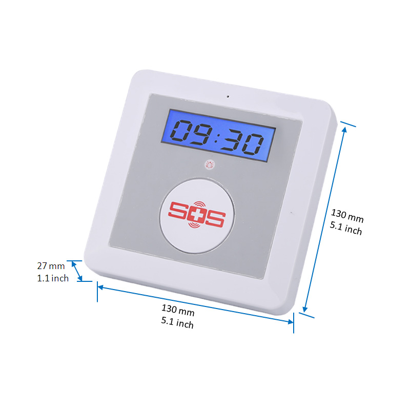 Image 3 - GSM Alarm SOS Call 850/900/1800/1900Mhz Personal Home Alarm Security System Big SOS Button for Elder Care Emergency Call SMS K4A-in Alarm System Kits from Security & Protection