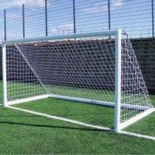 3 м* 2 м PE гол сетка 5 человек Futbol сетка хлопок спандекс материал футбольная сетка для футбольных ворот пост сетки Открытый Спорт тренировочный инструмент