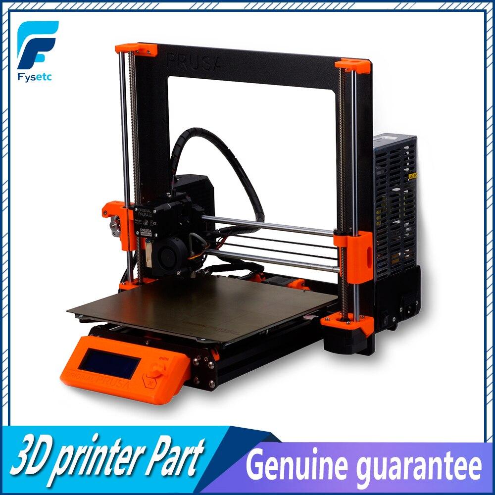 Conjunto 1 Clone Prusa i3 Kit Completo MK3 3D Cama Calor Impressora de Kit Completo DIY Magnética Frame Da Liga Haste EinsyRambo 1.1a Motores de Bordo Kit