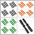 16pcs 8pairs 4045 Bullnose Bulletproof Propellers The Indestructible Prop for ZMR180 QAV250 Mini Quadcopter Multirotor