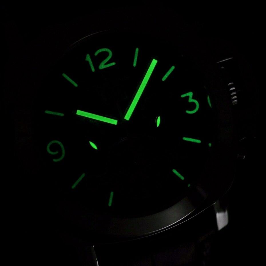 Bestand Uhr Leder Retro 1