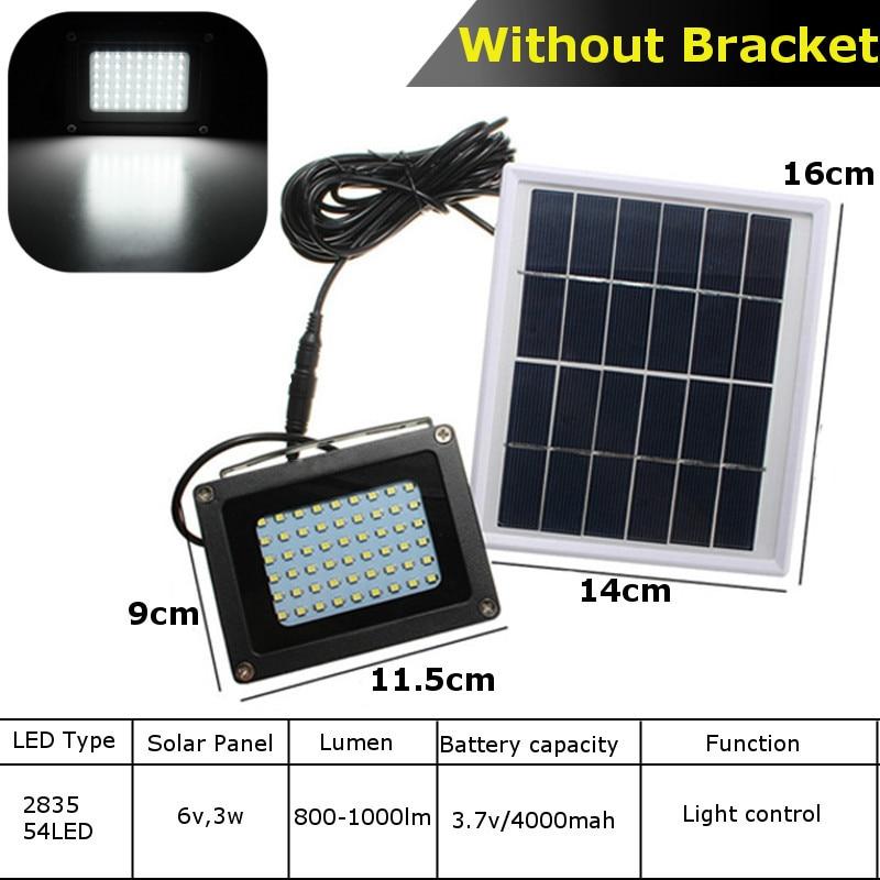 Lâmpada de energia solar dusk to dawn