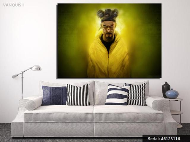 VANQUISH TV POSTER The Breaking Bad Warning 24x36 Poster wall Art ...