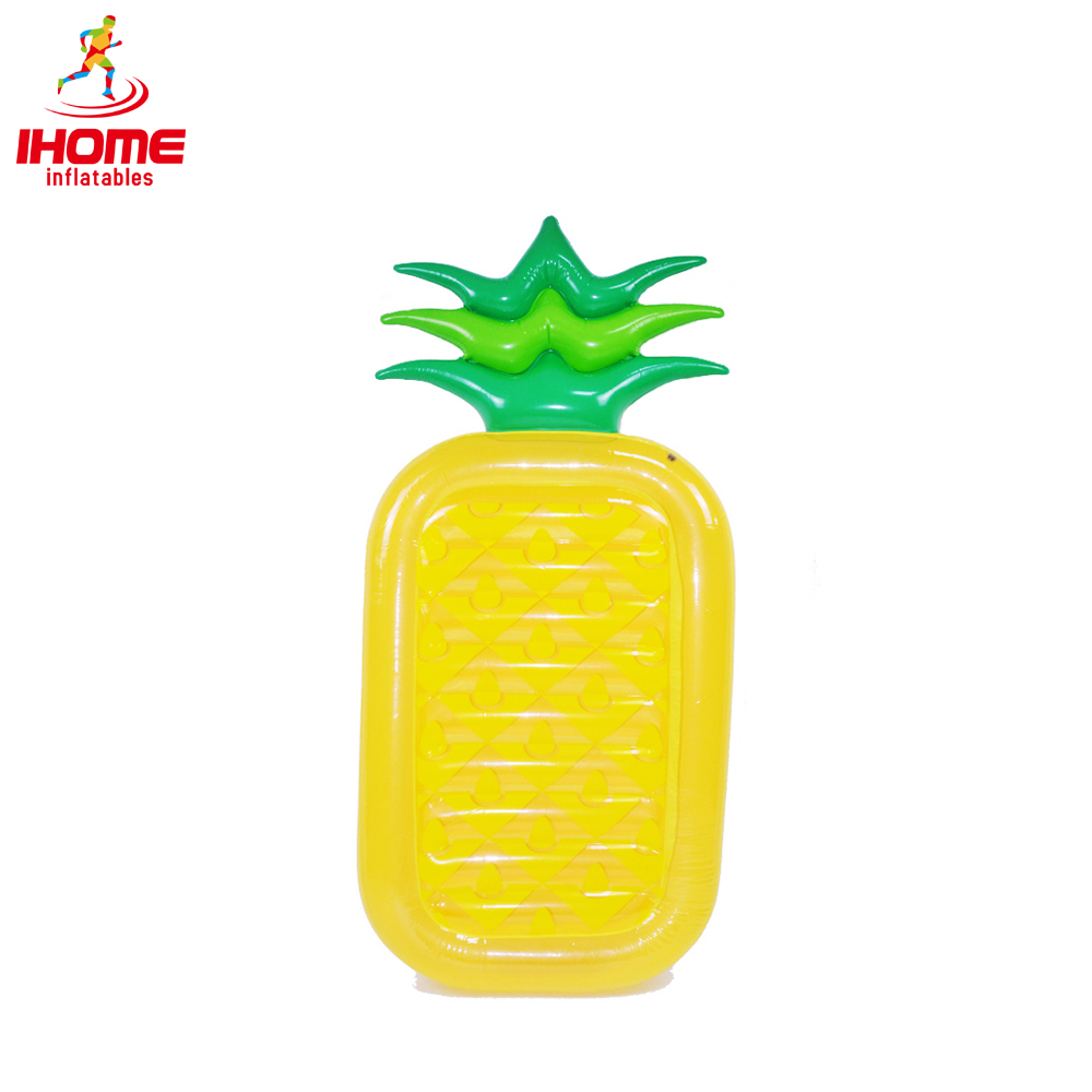 10pcs / lot Uppblåsbara poolleksaker Sommar Ananas Luftmadrass Simma RING Pool Float Raft Bed Fritidsstol Bali Island Holiday