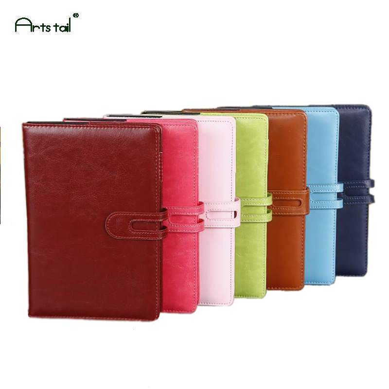 Art Tail A5 Size 100 pages Pants Leather Cute School Business Office Notebook Diary Handbook Stationery the family business succession handbook