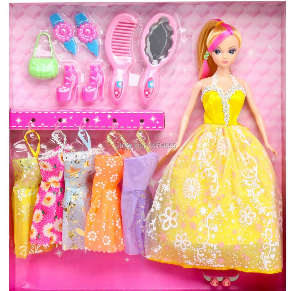 Toys For Kids Girls : Barbiee doll for girls kids toys princess