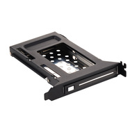 2.5in sata case aluminum hdd caddy tray bracket ssd Internal PCI HDD mobile rack for PCI expansion bay