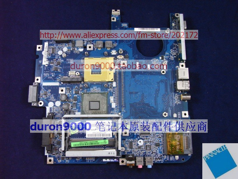 MBAHA02001 Motherboard for Acer aspire 5710 MB.AHA02.001 JDW50 L02  tested good mbpec0b009 motherboard for acer aspire 3810t 3810tg 3810tz 6050a2264501 su2700 cpu tested good