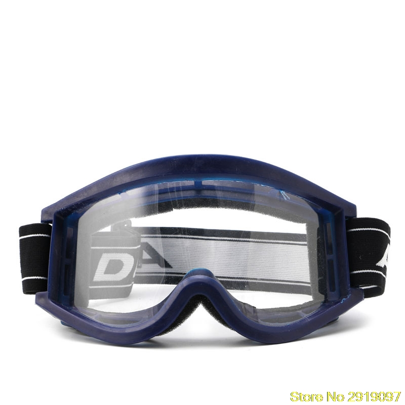New Arrive Blue Adult Youth Motorcycle Raider Motocross Dirt Bike ATV Goggle Goggles Drop Shipping Support