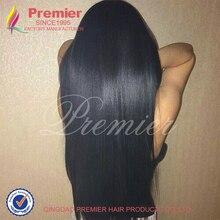 Brazilian Virgin Hair Italian Yaki Full Lace Human Hair Wigs Yaki Straight Glueless Lace Front Human Hair Wigs For Black Women