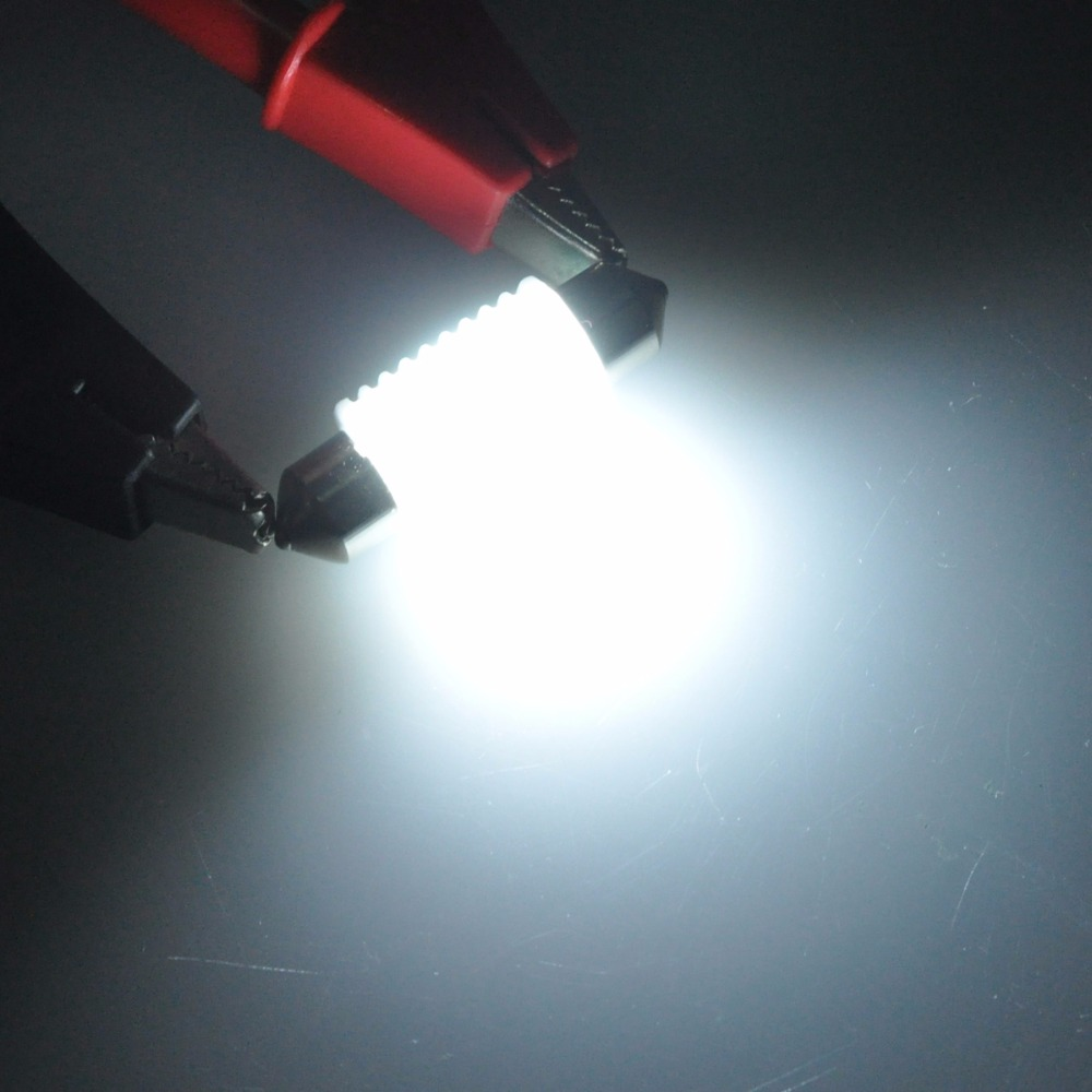 AutoEC 2x c5w 31mm 36mm 39mm 41mm keramisk festoon auto 3030 lysere - Billygter - Foto 5