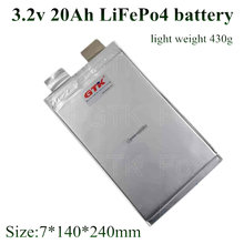 3.2 V 20Ah LiFePO4 batterie rechargeable LFP 60 ampères décharge 3C 5C Lithium fer phosphate batteries cellules(China)