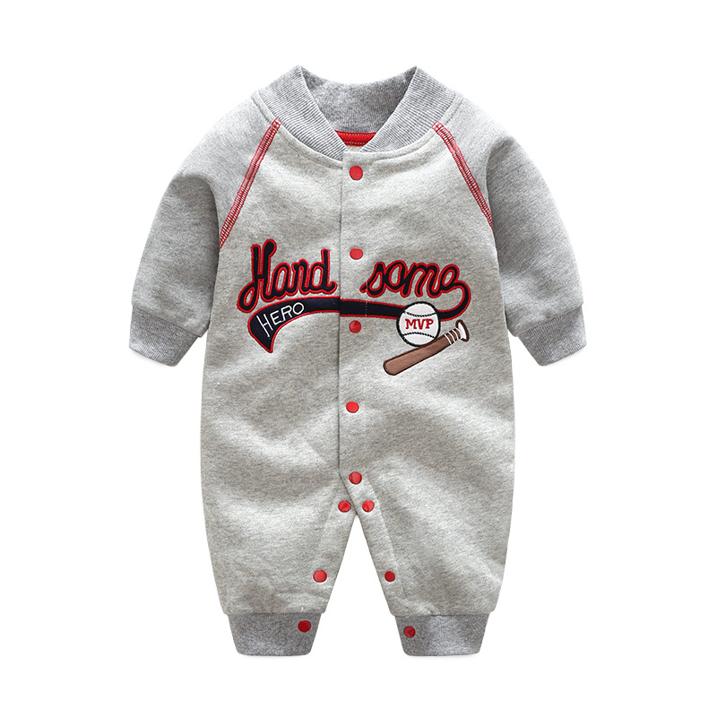 2018 orangemom Casuals sport baby boy clothes spring jacket for boys clothing thick outdoor baby   rompers   fashion jumpsuit
