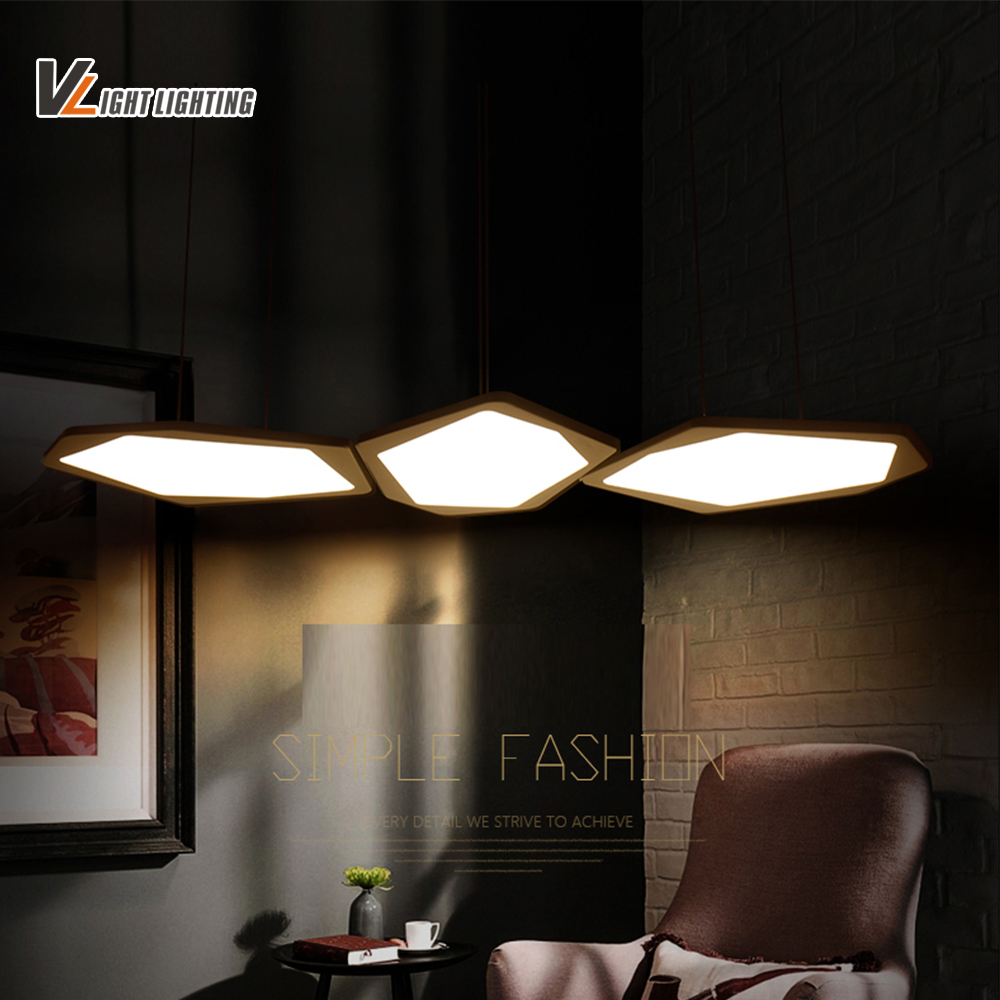 New Arrival Led Pendant Lights For Dining Room Bar Home Dec AC85 265V lampadari moderni a sospensione Led Pendant Lamp