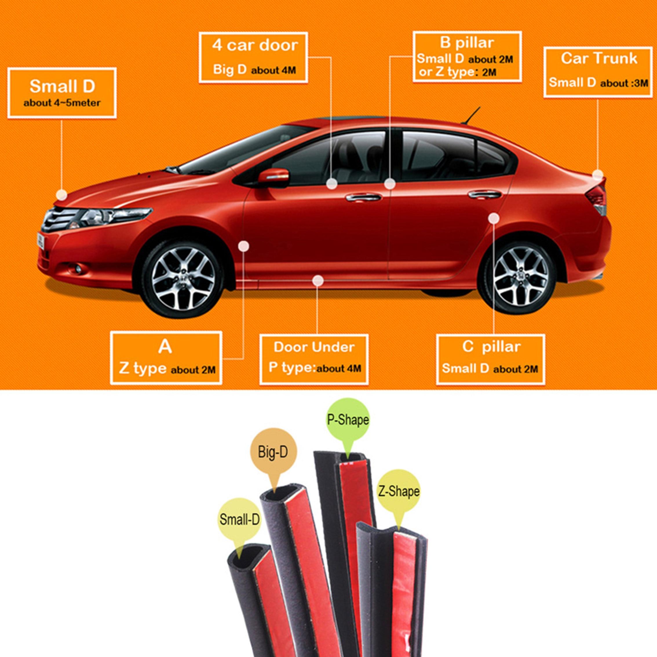Krada T Type Auto Rubber Seals 1.6m Windshield Seal Adhesive Strips Car Styling For Vw Bmw E36 E39 E60 X1 Passat Mazda Kia Rio Paint & Window Repair Tool