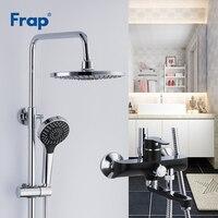 Frap для ванной смеситель для душа комплект ванны смесители душ смеситель для ванны краны водопад душем настенное смеситель torneiraF2442