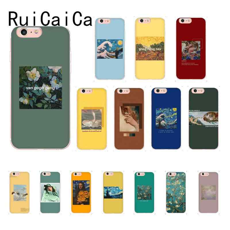 Ruicaica Van Gogh Art Aesthetic Artsy Fashion Popular Phone