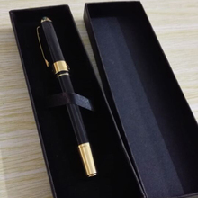 Best Design Stainless Steel Metal Executive Silver And Gold Roller Ball Pen Free Shipping