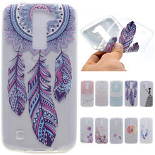 Luxury Cartoon Butterfly Girl Tower Bicycle TPU Soft Fundas Case For LG K8 Lte K 8 K350 K350E K350N 5.0 Inch Back Cover Capa